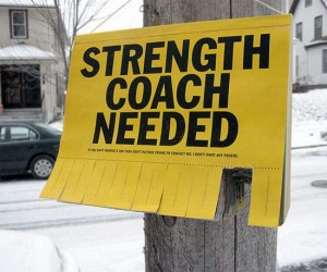 Strenght-coach-needed