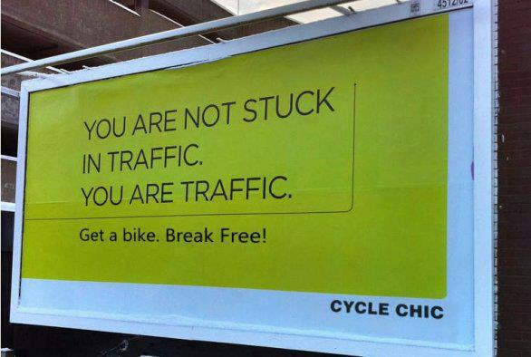 You are traffic.